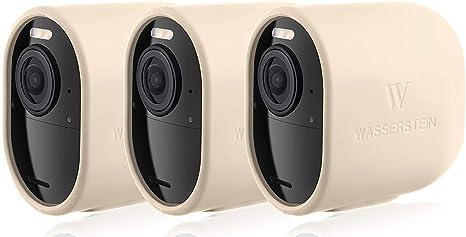 Opinión sobre Fundas de Silicona Protectoras compatibles con cámara de Seguridad Arlo Ultra – Decora y Protege tu cámara Arlo (Beige – Pack de 3)