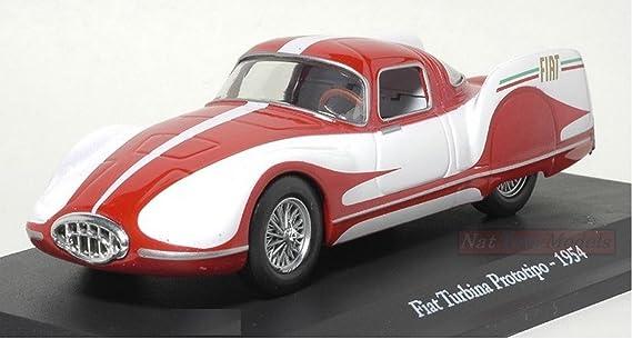 Fiat Turbina Prototipo 1954 Rare Die Cast 143 Norev Box Fiat Story