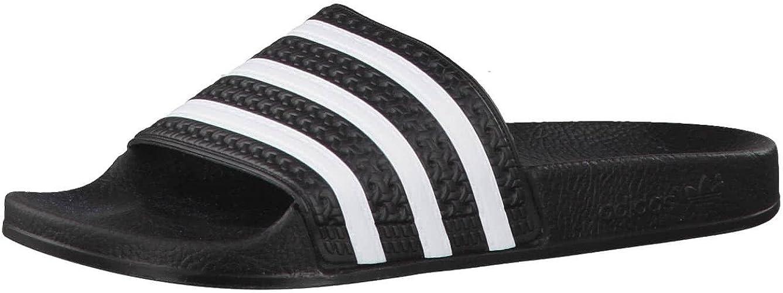 instructor Paquete o empaquetar Edredón  adidas Adilette, Slip-on Sandals Unisex Adult Black Size: 4: Amazon.co.uk:  Shoes & Bags