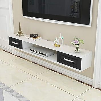 Regal Wand-TV-Schrank Moderne schwimmende TV-Ständer Konsole ...