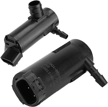 Terisass 85280-47010 Car Vehicle Headlight Washer Pump 8528047010 Automobile Headlamp Washer Pump Motor for Toyota Prius Ct200H Rc350 Es350 Rc F Hs250H Gs250 Ls600Hl Lfa Nx200T 300H 2009-2015