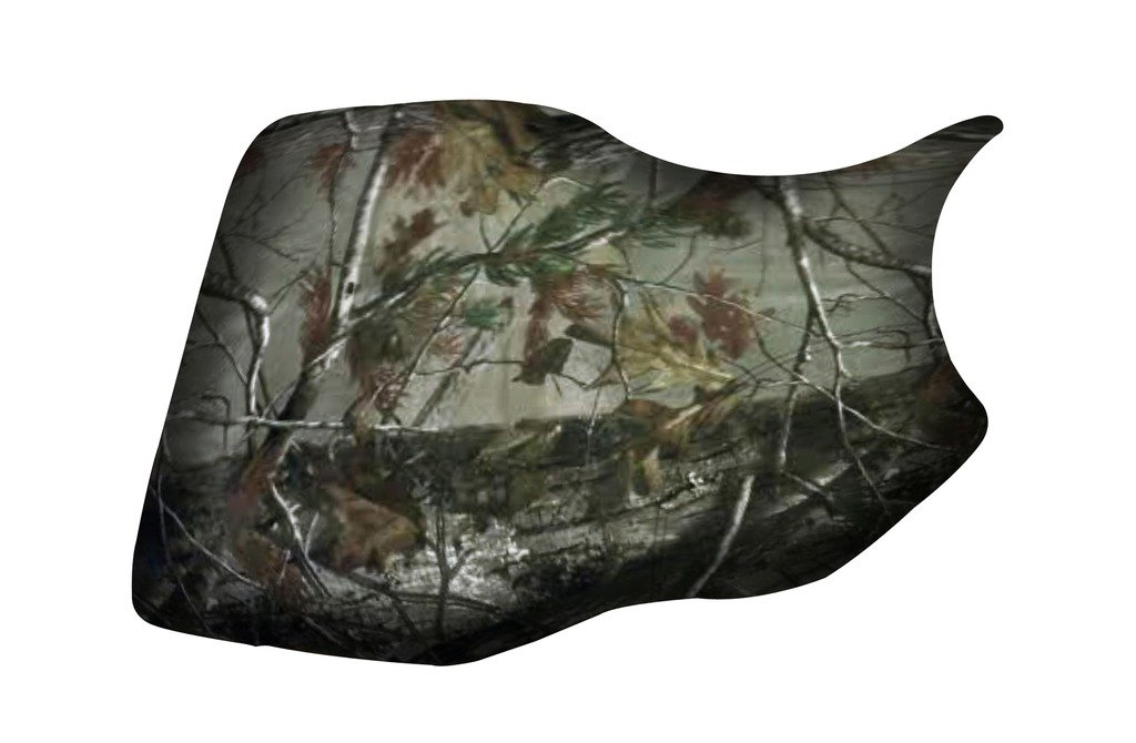Yamaha Grizzly 350 400 450 660 Camo Seat Cover verde powersports