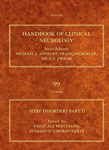 Download Sleep Disorders Part II: Handbook of Clinical Neurology (Series Editors: Aminoff, Boller and Swaab): 99 Pdf