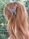 BridalRhinestone Bridal Wedding Butterfly Veil