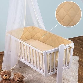 Kinderzimmer Baby 4-seitig Sicherheit Bumper Pad zum Fit 90 x 40 cm ...
