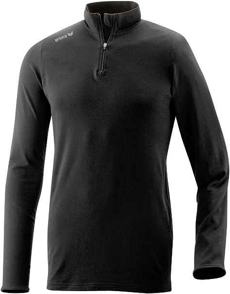 Erima Mens Active Wear Half-Zip Top
