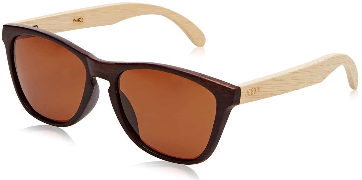 100Uv Comfortable Wear Wayfarer With Unisex Bamboo Sunglasses Sea To Protection Wood Glasses And Sun LightweightEasy Ocean Scratchproof 5RL3Aj4q