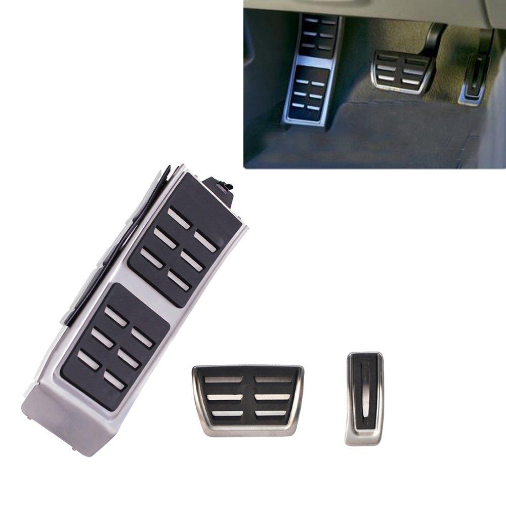 Auto Accessori in acciaio inox poggiapiedi per A7 Q5 A4 A5 B8 S4 RS4 S5 RS5 A6 S6 S7 Q3 8R Gas pedale pedale del freno tbparts