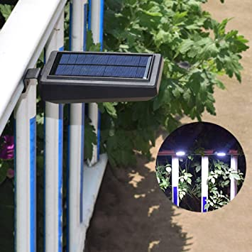 RUIXFAP Inteligente Luz Solar Exterior Led, Foco Solar Exterior con Sensor De Movimiento Iluminación Luces Solares Impermeable Lámpara Solar para Jardín Duradera: Amazon.es: Deportes y aire libre