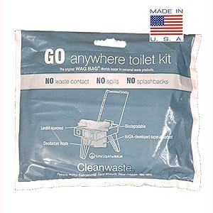 どこでもキット(100-キット)廃棄GO Cleanwaste
