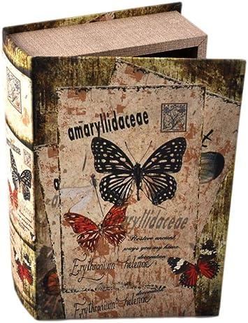 Tiendas Mi Casa - Caja Libro Mariposas (Modelo A, 27x18x7 cm ...