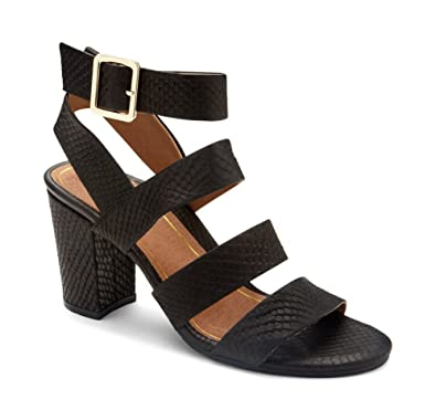 7fa9245a67f3 Amazon.com  Vionic Women s Perk Blaire Open Toe Heel - Ladies Strappy Sandal  with Concealed Orthotic Arch Support  Shoes