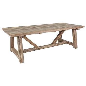 Bon Gartentisch Holz Marbella Gartentisch 240x110 Cm Teak Recycled Massviholz Tisch  Holztisch Garten Terrassentisch