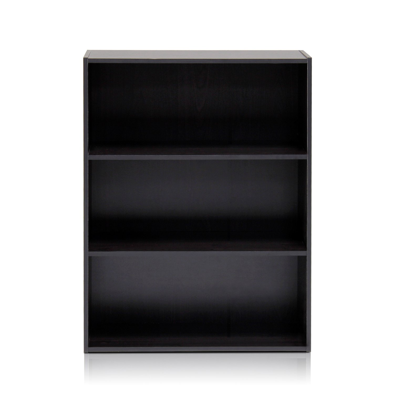 Furinno 11208EX Pasir 3-Tier Open Shelf, Espresso