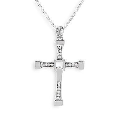 collana con croce ispirata al film dellattore Vin Diesel The Fast and Furios del regista Dominic Toretto moderno accessorio greewelry