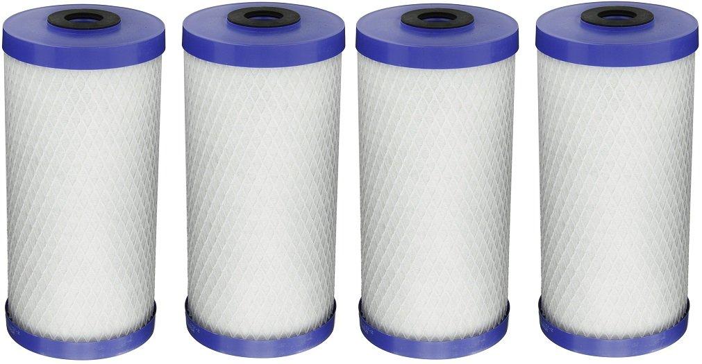 Pentek EP-BB Carbon Block Filter Cartridge, 9-3/4 x 4-5/8, 5 Microns (Pack of 4)