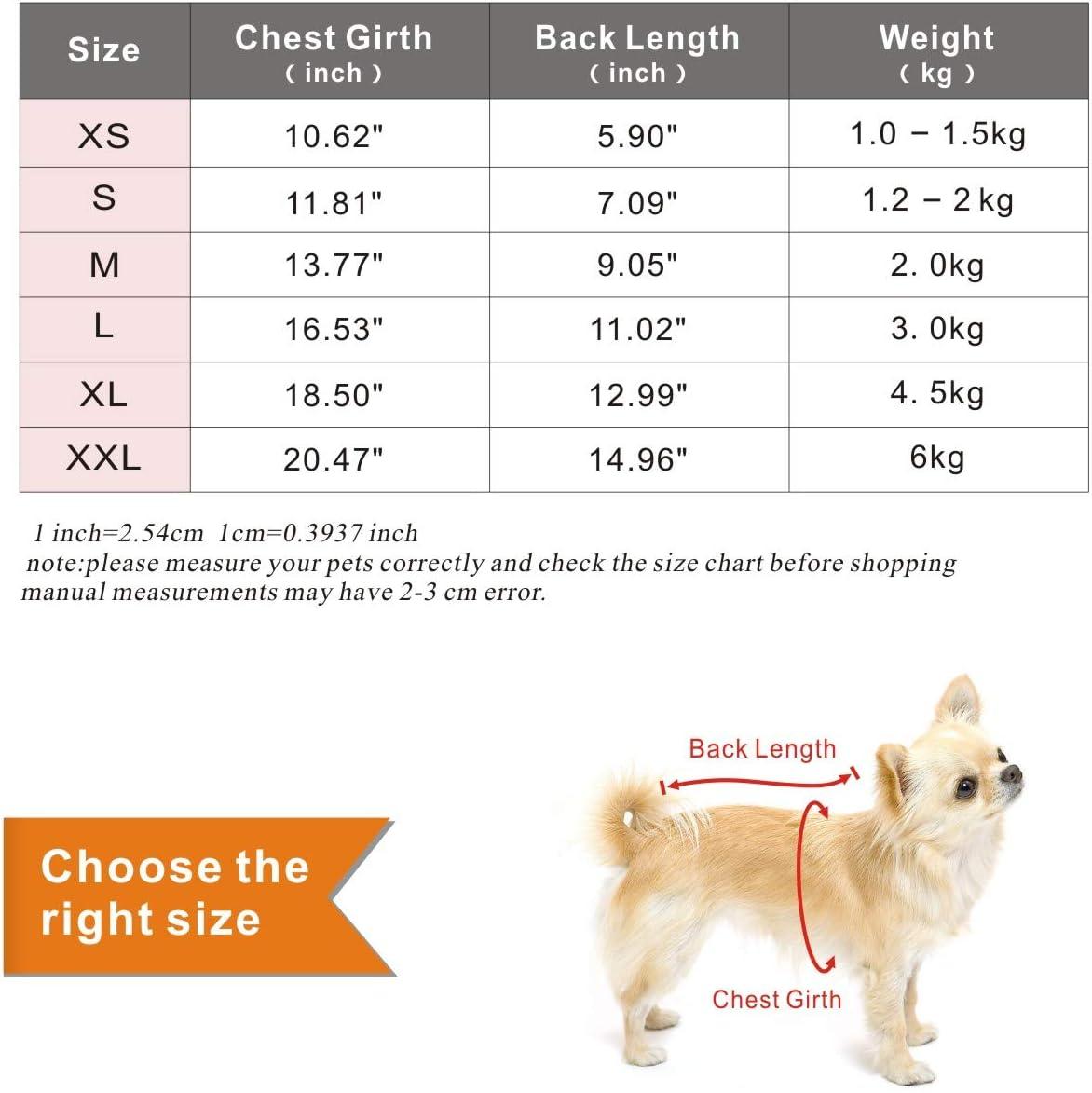 Comodi Maglioni per Cuccioli di Cani Felpe con Cappuccio per Gatti Abbigliamento per Animali Vestiti per Cani Caldi Invernali Maglioni per Gatti Idepet Maglione per Animali Domestici