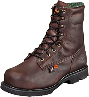 """product image for Thorogood Men's USA Made 8"""" I-MET2 Safety Toe Work Boot Leather 804-4831"""