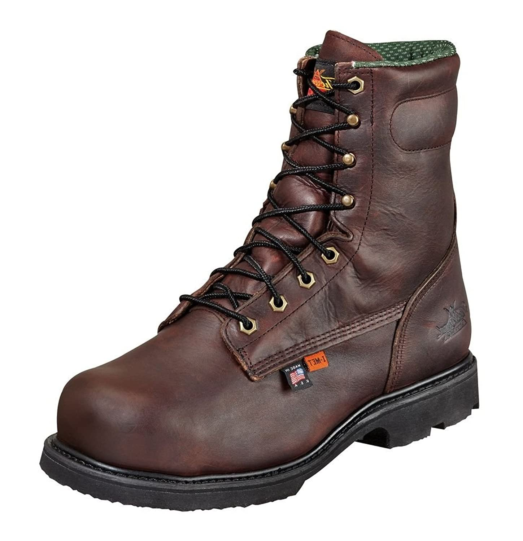 804-4831 Thorogood Men's I-MET2 Safety Boots - Black Walnut