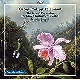 ゲオルク・フォリップ・テレマン:様々な楽器のための大協奏曲集 第1集(Telemann: Grand Concertos, Vol. 1)