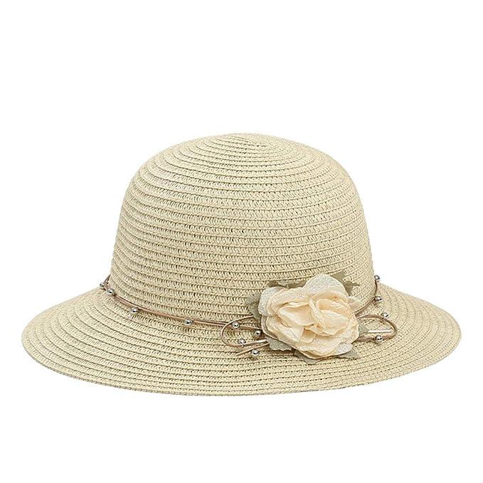 Sombrero de sombrilla de Verano para Mujer Sombrero ...