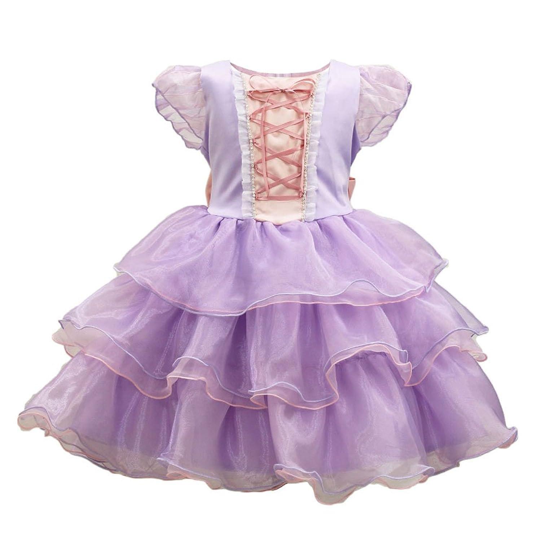 0f84823322e2a リトルプリンセスデザイン ディズニーフォーマルドレス ラプンツェル 子供ドレス
