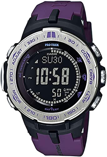 Amazon.com: Casio PROTREK Slim Line Series Solar Multiband 6 ...