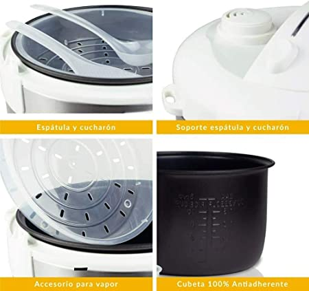 Top SHOP Coci Facil 9 en 1 robot de cocina Potencia 700 W cocción al horno y a vapor AN42: Amazon.es: Hogar