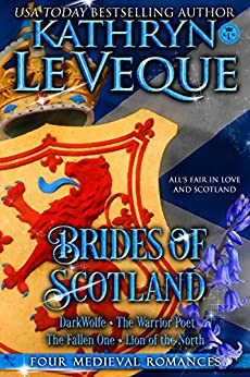Brides of Scotland: Four Medieval Scotland England full length novels by [Le Veque, Kathryn]