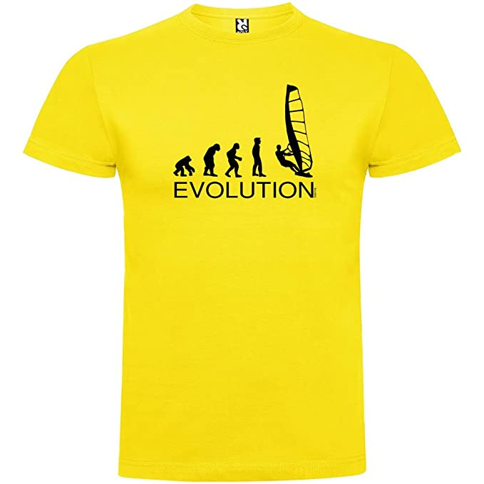 kruskis Camiseta Deportes Extremos Evolution Windsurf Manga Corta Hombre pMYzK