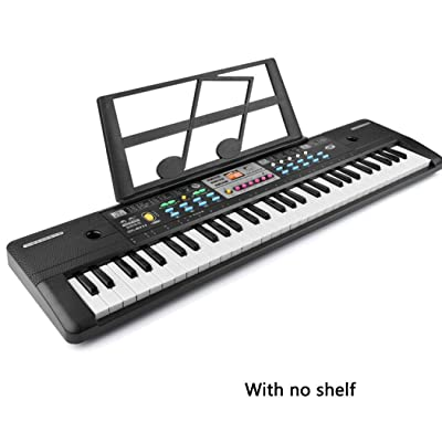 37-Keys Microphone Keyboard Children's Musical Toys Early Education Pianos & Keyboards: Home & Kitchen