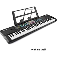 OIYINM77 24 x 75 x 6 cm Giocattoli Musicali per Bambini a 37 Tasti Tastiera per Bambini Educazione precoce Pianoforti e tastiere