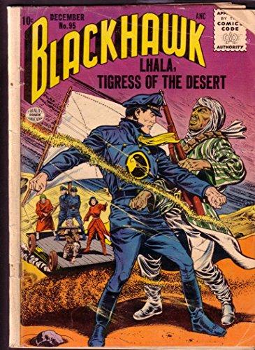 BLACKHAWK COMICS #95 ALL GIRL VILLAIN ISSUE 1955 QUALIT G]()