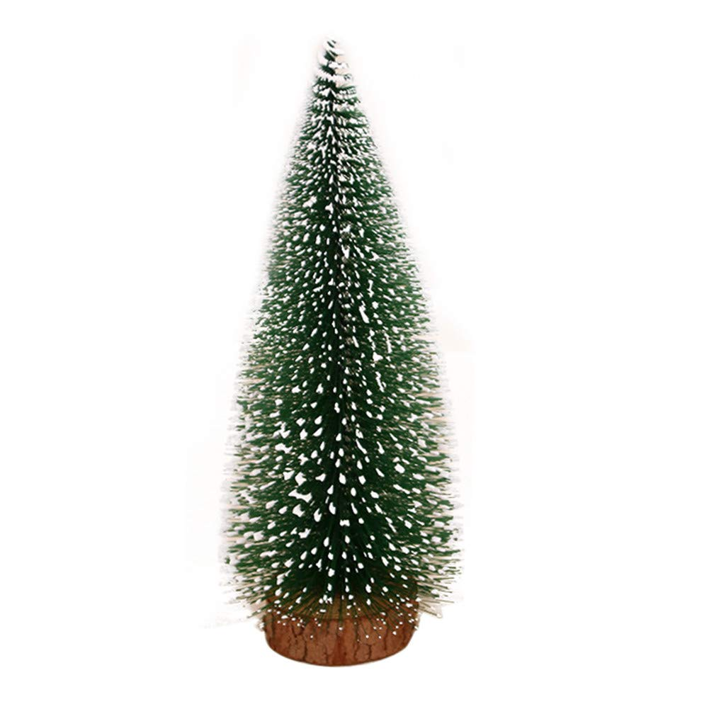 Drasawee Merry Christmas Pine Needle Tree Stand Home Decoration for Holidays 10CM