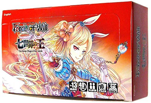 Force of Will - Alice Cluster Set 1 - The Seven Kings of the Lands Booster Box ()