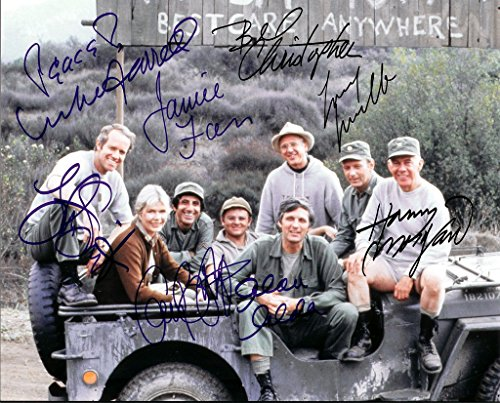 MASH - Signed Autograph 8x10 REPRINT Photograph Poster RP NEW - LORETTA SWIFT ALAN ALDA
