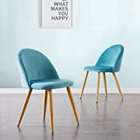 CLIPOP Juego de 2 sillas de Comedor