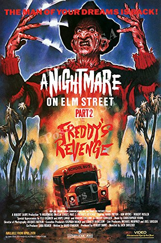 Posters USA A Nightmare On Elm Street Part 2 Freddy's Revenge GLOSSY FINISH Movie Poster - FIL806 (24