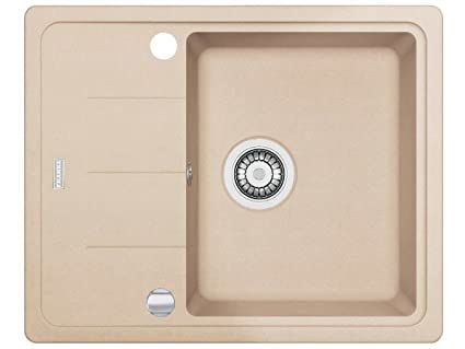 Franke Basis BFG 611 - 62 Beige FRAGRANITE lavandino da cucina ...