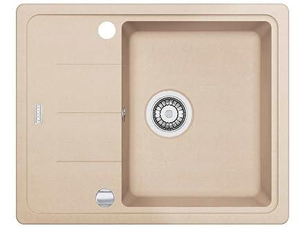 Franke Basis BFG 611 - 62 Beige FRAGRANITE lavandino da cucina ...