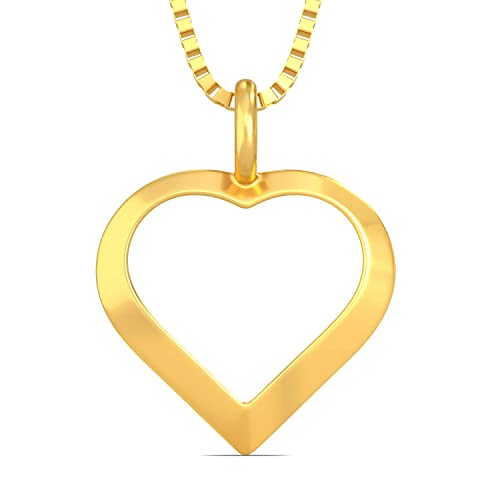 Joyalukkas 22KT Yellow Gold Pendant for Girls