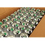 TEMCo 25 LOT Dual Run Capacitor RC0105 - 35/5 mfd 370 V 440 V VAC volt 35+5 uf AC Electric Motor HVAC