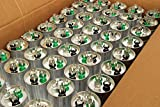 TEMCo 25 LOT Dual Run Capacitor RC0105 - 35/5 mfd 370 V 440 V VAC volt 35+5 uf AC Electric Motor HVAC
