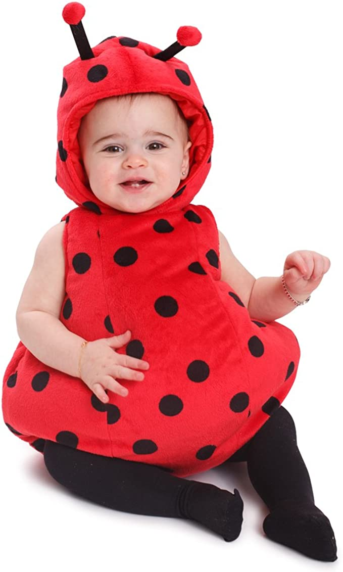 Amazon.com: Dress Up America bebé niñas Ladybug Costume ...