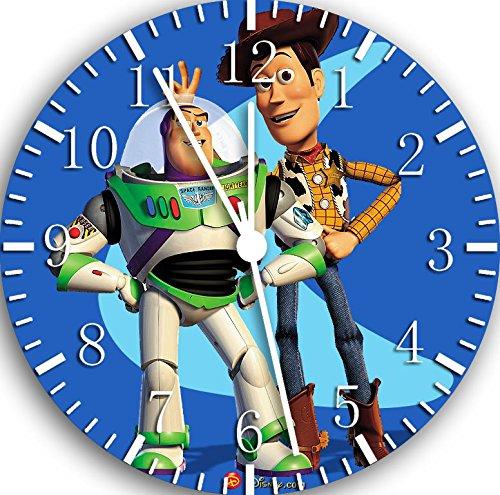 New Disney Toy Story Woody Buzz Wall Clock 10Nice Gift Wall Decor W32