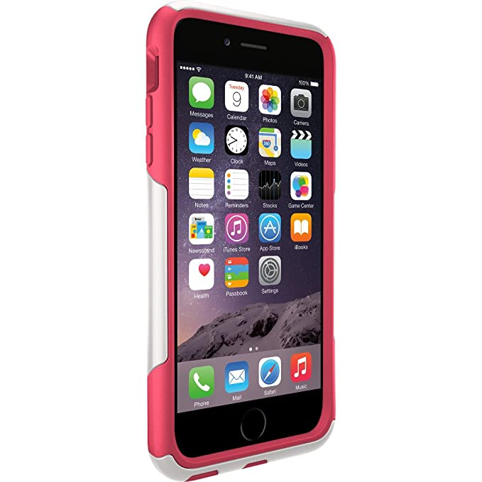 amazon com otterbox commuter iphone case for 6 plus 6s neon rose