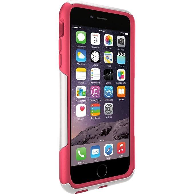 amazon com otterbox commuter iphone case for 6 plus 6s neon roseimage unavailable image not available for color otterbox commuter iphone case for 6 plus 6s