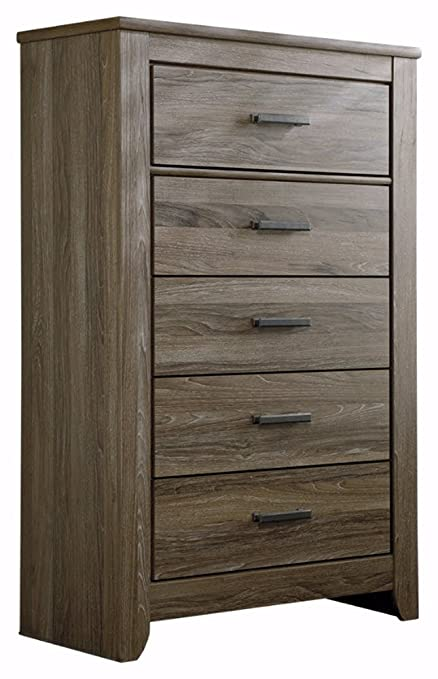 Merveilleux Ashley Furniture Signature Design   Zelen Chest Of Drawers   5 Drawer  Dresser   Warm Gray