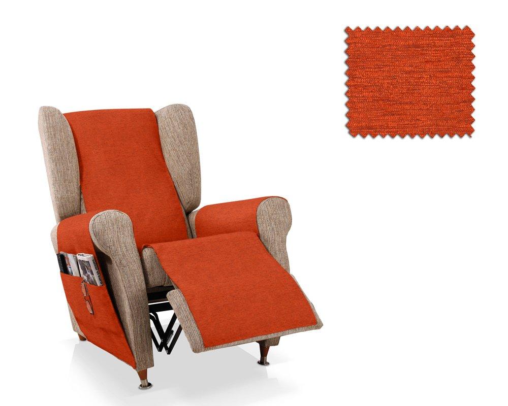 JM Recliner armchair cover Biggie 1 seater size (55 Cm.), Colour 01 JM Textil