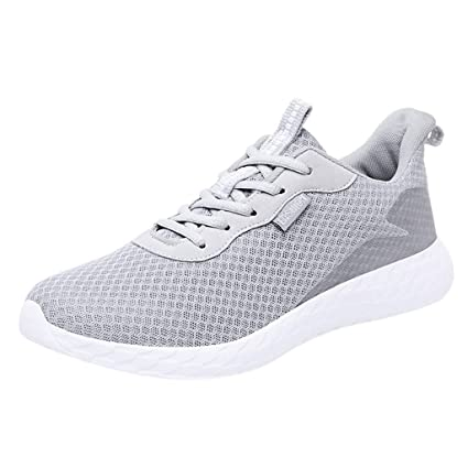 1c5a021215a48 Amazon.com: Men's Mesh Breathable Sports Shoes,Mosunx Athletic Teen ...